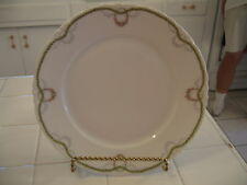 Vintage Versailles RC Bavaria Fine Porcelain Scalloped Dinner Plate Rose Swags