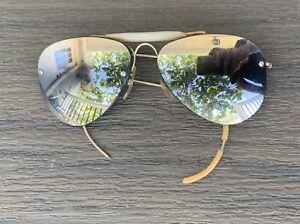 Vtg SHURON 12K Gold Filled Aviator Sunglasses GF