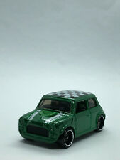Hot Wheels Morris Mini Metalflake Green Multipack Exclusive 2020 - Unpackaged