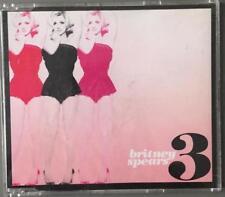 BRITNEY SPEARS - 3 THREE - CD SINGLE GERMANY - RARE 2 TRACKS - JIVE - 2009