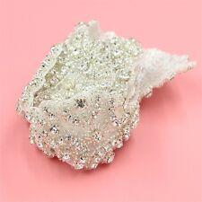1 Yard Bridal Sash Belt Beaded Rhinestone Trims Costume Applique Sewing Motif