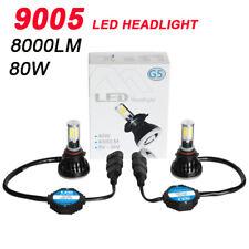 G5 9005 Hb3 H10 80W 8000LM 6000K COB LED Car Headlight Lamp Kit White Bulbs Beam