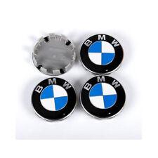 4Pcs Wheel Centre Hub Caps Badge Emblem Logo 68MM For BMW 1 3 5 6 7 X Z Series