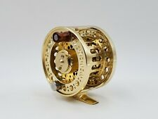 Redington AL 3/4 Fly Fishing Reel  Gold Colored Very Smooth Reeling