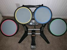 XboX 360 Rock Band Drum Set with Pedal and Sticks