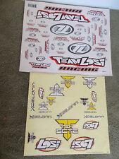 Team Losi Racing Decal Sheet & Losi Xcelorin Decals