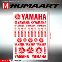 Red Wings HRC Sticker Sheet MX Racing Decals Badge Car Motocross ATV Truck Decor