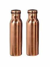 Copper Water Bottle (900 ml, Brown)  Free Shipping worldwide