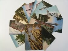 NORTHERN CALIFORNIA PICTURESQUE 13 PRE-LINEN POSTCARD LOT MOST >100 YEARS AGO485
