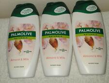 Palmolive Naturals Almond & Milk Shower Gel 250ml  x3