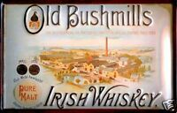 Bushmills Distillery embossed steel wall sign (hi 3020)