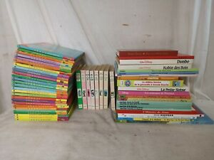 GROS LOT LIVRES BD CD theme enfant jeunesse bibliotheque rose Walt Disney E5