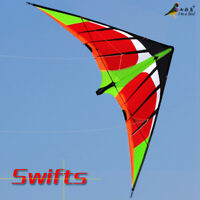 NEW 5.9ft 1.8m Swifts stunt Power Kite outdoor Sports Toys novelty dual line