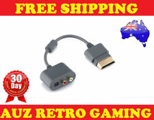 Toslink Optical RCA Audio Cable Adapter for Microsoft XBOX 360 Slim Console