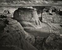 Canyon De Chelly by EDWARD S CURTIS Photo Poster 24X36 NAVAJO 1904 rare!