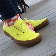 Vans Authentic Ice Cream Glitter Yellow Women's Shoes 7.5