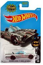 2016 Hot Wheels #226 Batman Series TV Series Batmobile ZAMAC