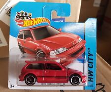 Hotwheels 2014 - '90 Honda Civic EF - [RED] S/C VHTF *12 CARS POSTED FOR $10*