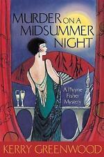 Murder on a Midsummer Night by Kerry Greenwood Medium Paperback