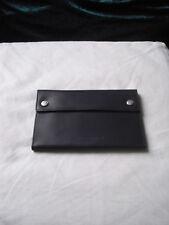 CERRUTI Ledertasche schwarz Brieftasche
