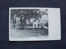 New listing undivided back Udb postcard - Post Office Corner, Cummington Mass. , unused
