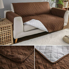 new Sofa Slip Cover Reversible Quilted Furniture Pet Protector Throw180*220cm
