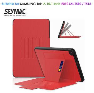 SEYMAC Samsung Tab A10.1 inch 2019 Case SM T510/T515 Slim Shockproof Multi-angle
