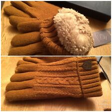 Dubarry Drumlion  Mustard Gloves Size S