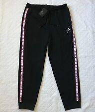 Air Jordan Sportswear Jumpman Basketball Pants SZ XL Black AR2250-010 NWT