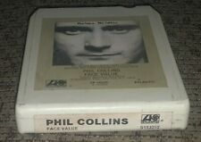 PHIL COLLINS Face Value 8 TRACK TAPE!! Tested!! 1981 In The Air Tonight Genesis