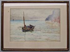 Lexen L.Pocock (British) Sailing watercolour Framed