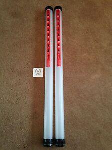 2 x JL BRAND NEW Golf clikka tubes Ball retriever 21 balls PER TUBE PRACTICE AID