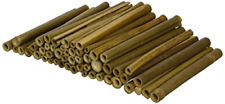 Wildlife World Solitary Bee Tubes Wooden Pack of 50 BTW1