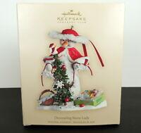 Hallmark Keepsake Ornament Club Decorating Snow Lady 2007 In Box Christmas