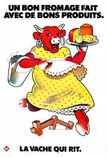 Cuisine Food Cafe la vache qui rit laughing cow Fromage Poster Print