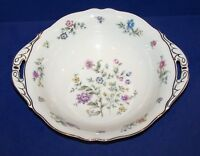 STUNNING FRANCONIA KRAUTHEIM MILLEFLEURS HANDLED ROUND VEGETABLE SERVING BOWL