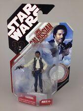 Star Wars 30th Anniversary Figure coin Lando Calrissian dans les contrebandiers Outfit
