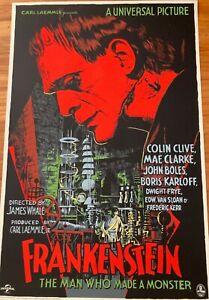 Rare Mondo Frankenstein Francesco Francavilla Art Print