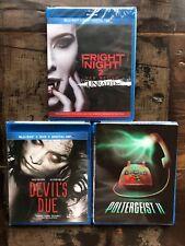 Devil's Due + Poltergeist 2 + Fright Night 2 New Blu-ray Lot Free Ship