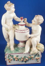 Antique 18thC Ludwigsburg Porcelain Putti Figurine Porzellan Figur Figure Putto