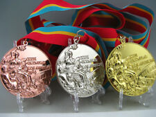 1984 Los Angles Olympic Gold /Silver /Bronze Medals Set 1:1 **Free Shipping**