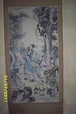 20th Century Chinese Scroll Painting -  Artist Lin Dongling (Lin Tung Ling)