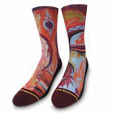 Men's Merge4 x Taylor Reinhold Socks Red Clothing Apparel Footwear