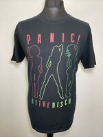 Panic! At The Disco Black Men's Graphic Spell Out T Shirt Tee Size Large L