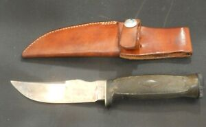 1920s Vintage Ka Bar Hollow Handle Compass Matches Survival Knife with Sheath
