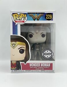 Funko POP Heroes - Wonder Woman - 229 - Exclusive Sticker - NUOVO - NEW