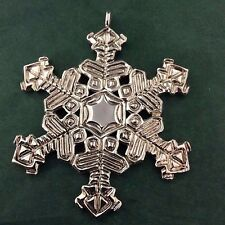 Sterling Collectables 2013 Sterling Silver Snowflake Ornament #7179