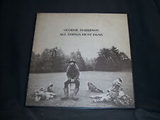 """Apple STCH-639 George Harrison - All Things Must Pass - UK Import 1970 12"""""""