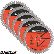 WellCut TCT Saw Blade 190mm x 48T x 30mm Bore For 5703R, DWE576, DW62 Pack of 5