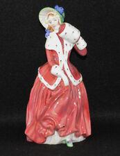 """Royal Doulton Figurine Christmas Morn Hn3212 (7 1/4"""" Tall)"""